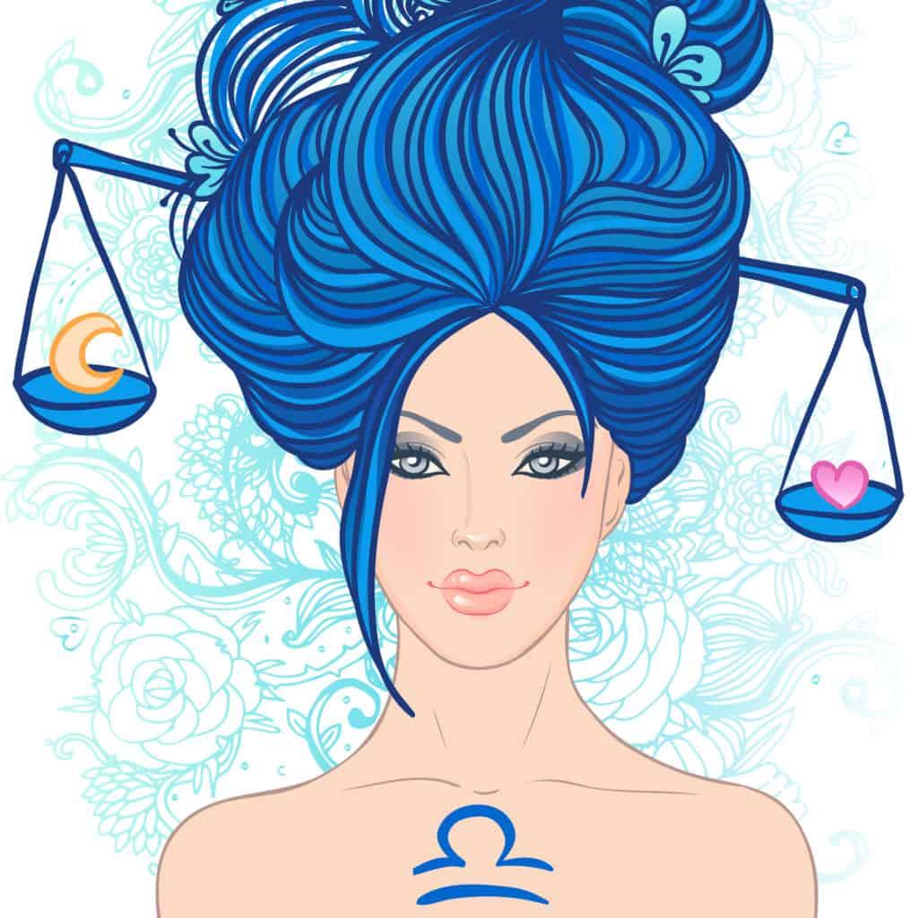 Libra woman zodiac sign