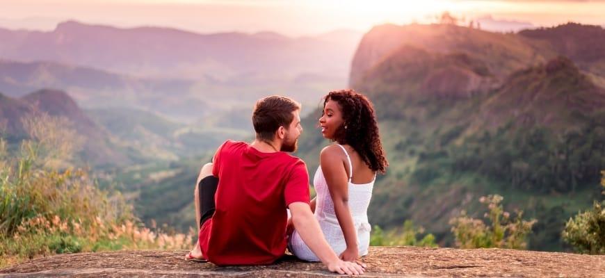 Happy couple's in outdoor