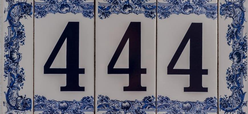 number 444