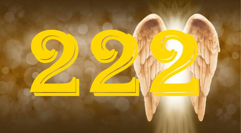 Golden angel wings with number
