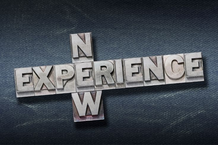 new experience den sign